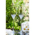 Milano - svatební skleničky s gravírováním - šampaňské