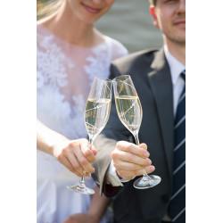 Silhouette - pár šampaň kalichov