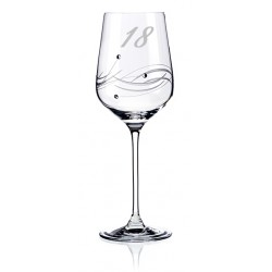 Lunar výroční sklenice na víno 18