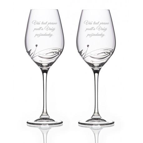 Lunar víno s vlastným textom - pár