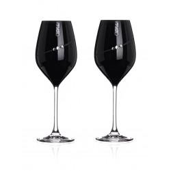Black Silhouette bílé víno - pár