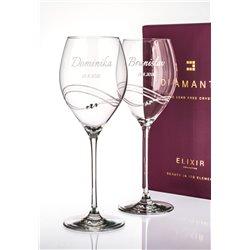 Desire - svatební sklenice s gravírovaním