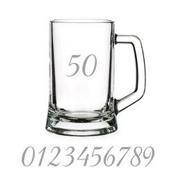 Pivový krígeľ 0,5l s gravírovaním