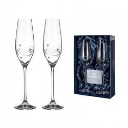Lunar - pár šampaň kalichov