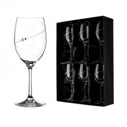 Bílé víno - 6 kusů - Silhouette City