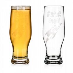 Super Otec - pivní sklenice Kaiser